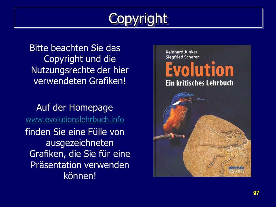 CopyrightBitte beachten Sie das Copyright und die Nutzungsrechte der hier verwendeten Grafiken! Auf der Homepage.