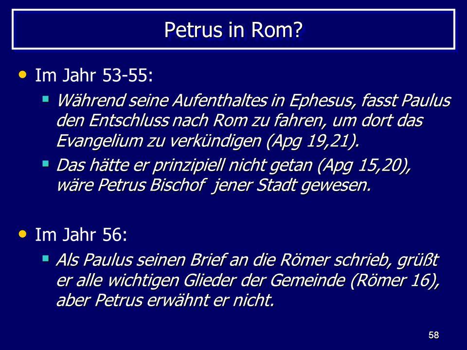 Petrus in Rom Im Jahr 53-55: Im Jahr 56: