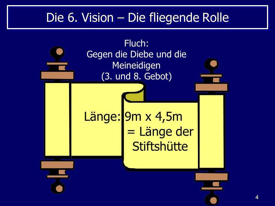 Die 6. Vision – Die fliegende Rolle
