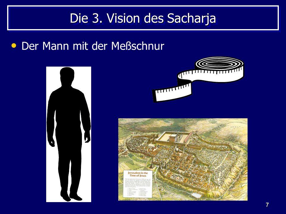 Die 3. Vision des Sacharja