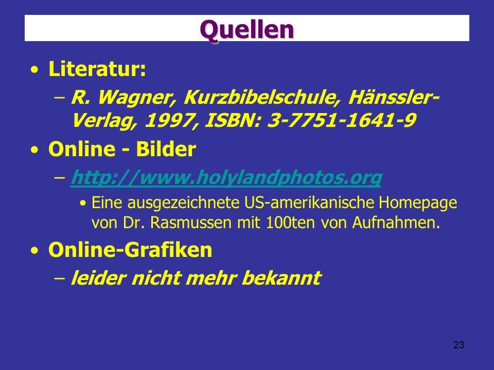 Quellen Literatur: Online - Bilder Online-Grafiken