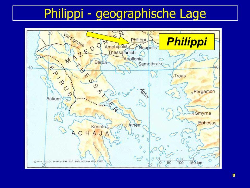 Philippi - geographische Lage