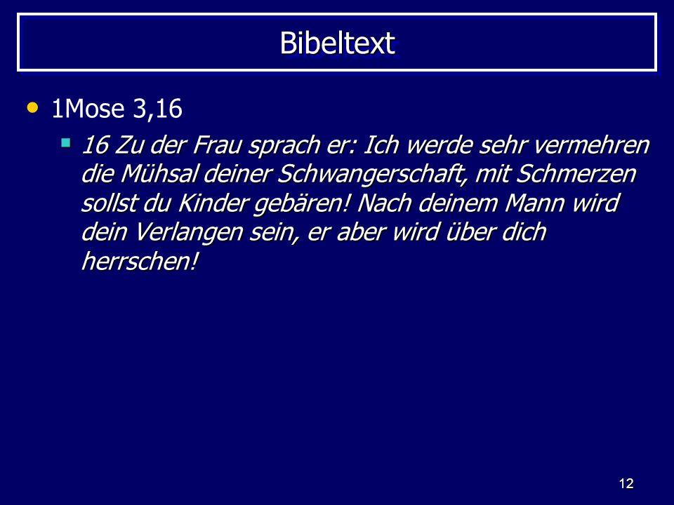 Bibeltext 1Mose 3,16.