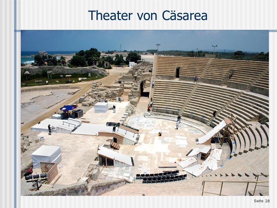 Theater von Cäsarea http://www.holylandphotos.org