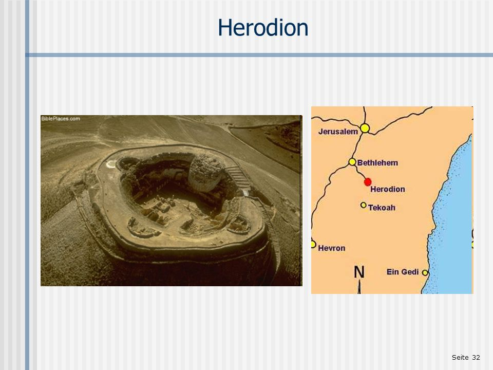 Einleitung zu Mt 2,1-23 Herodion. http://www.abu.nb.ca/courses/NTIntro/images/Herodifortress.htm (11.2009)