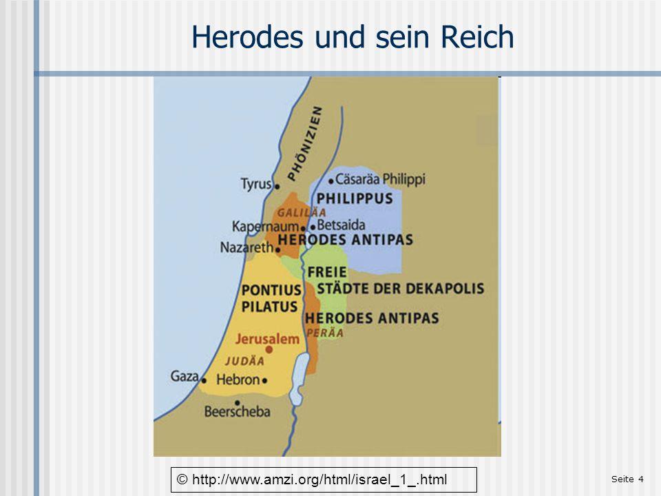 Herodes und sein Reich © http://www.amzi.org/html/israel_1_.html