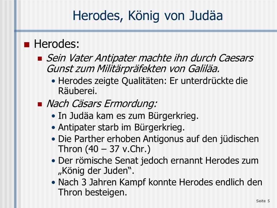 Herodes, König von Judäa