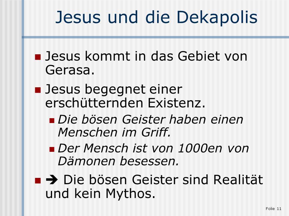 Jesus und die Dekapolis