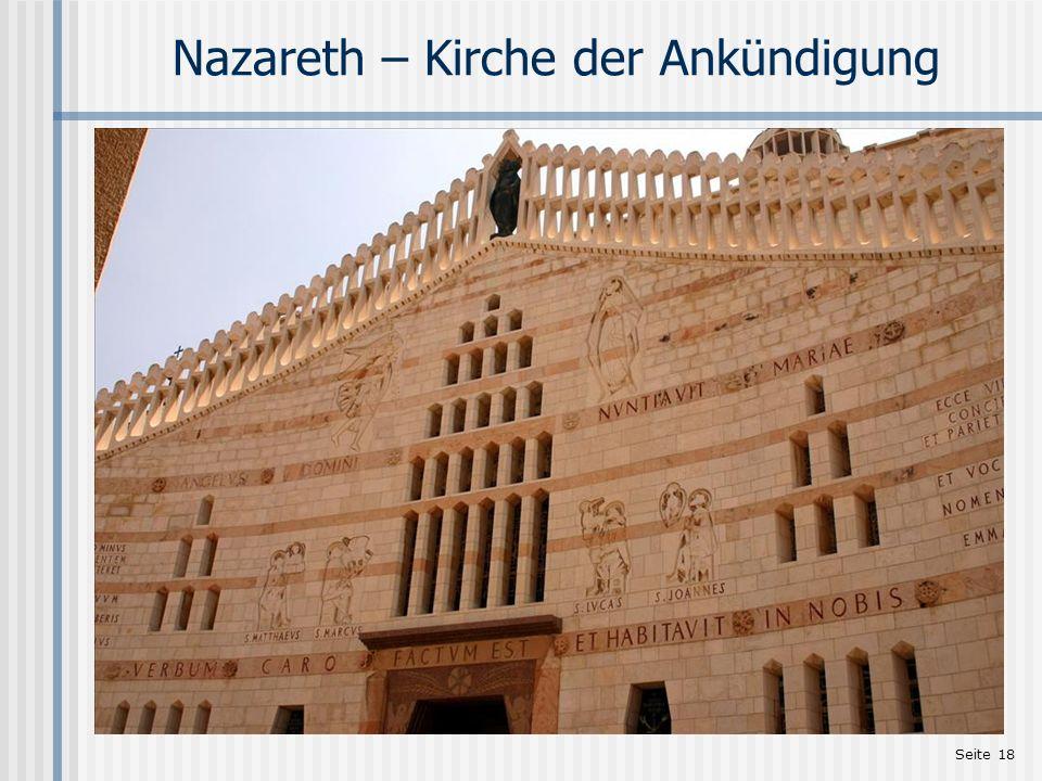 Nazareth – Kirche der Ankündigung