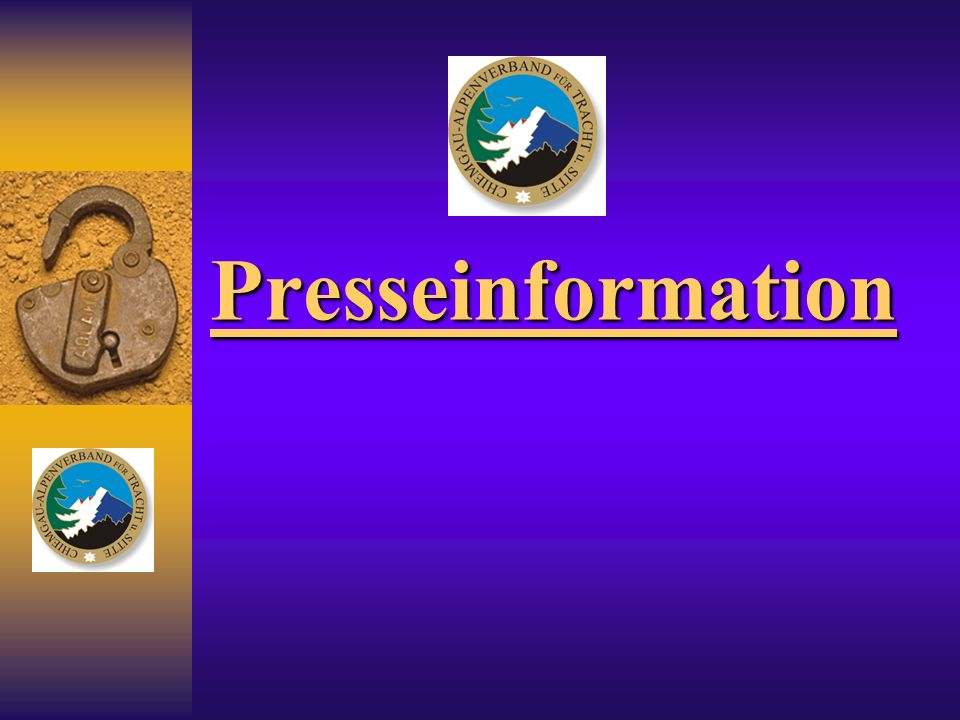 Presseinformation