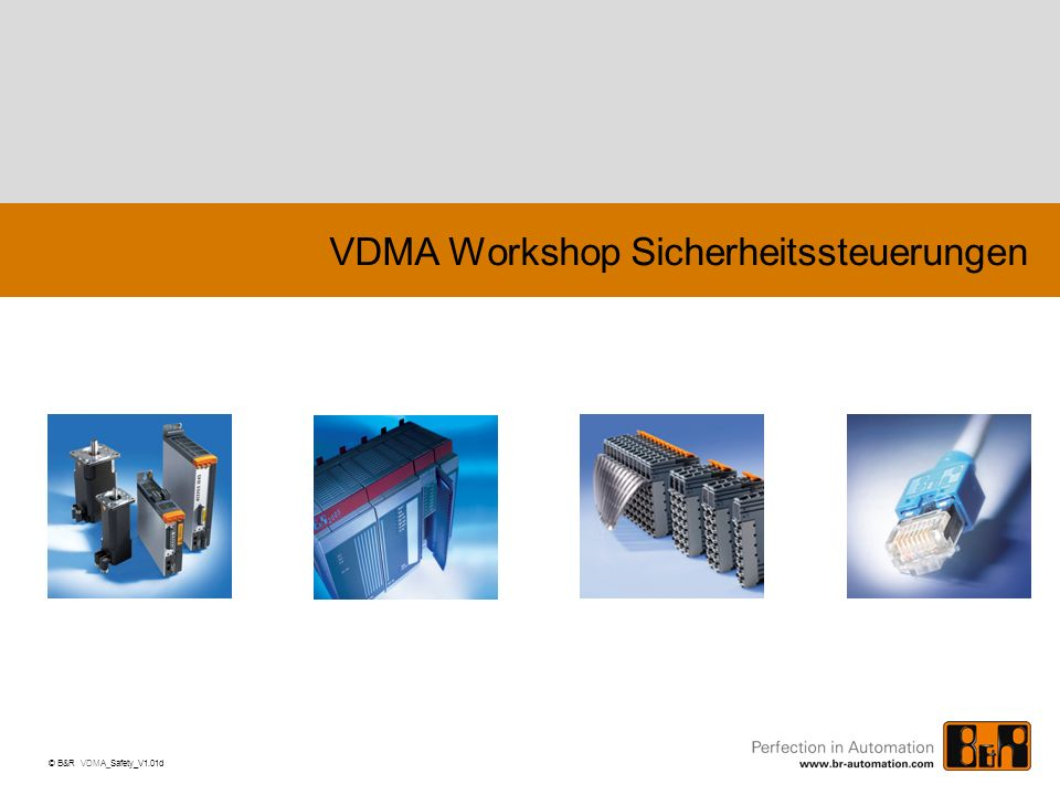 VDMA Workshop Sicherheitssteuerungen