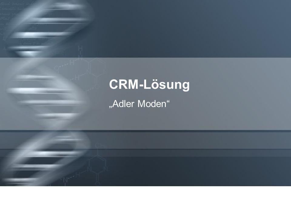 """CRM-Lösung """"Adler Moden 1"""