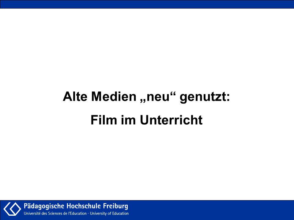 """Alte Medien """"neu genutzt:"""