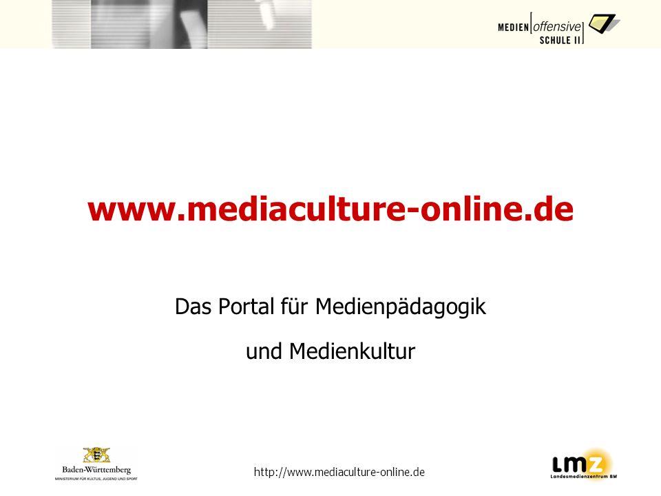 Das Portal für Medienpädagogik und Medienkultur