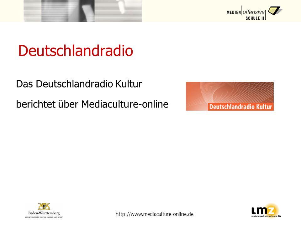 Deutschlandradio Das Deutschlandradio Kultur