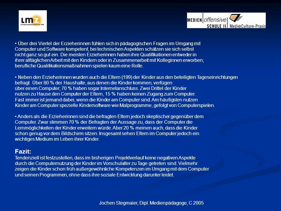 Jochen Stegmaier, Dipl. Medienpädagoge, C 2005
