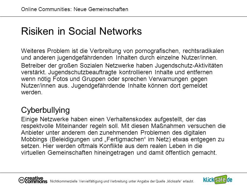 Online Communities: Neue Gemeinschaften