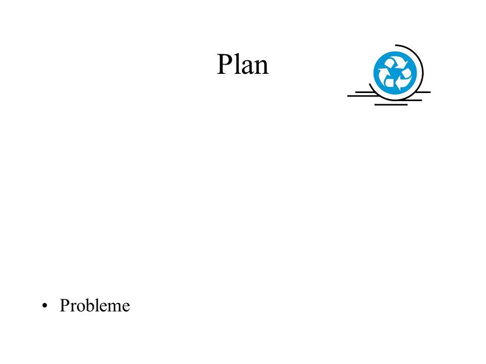 Plan Probleme