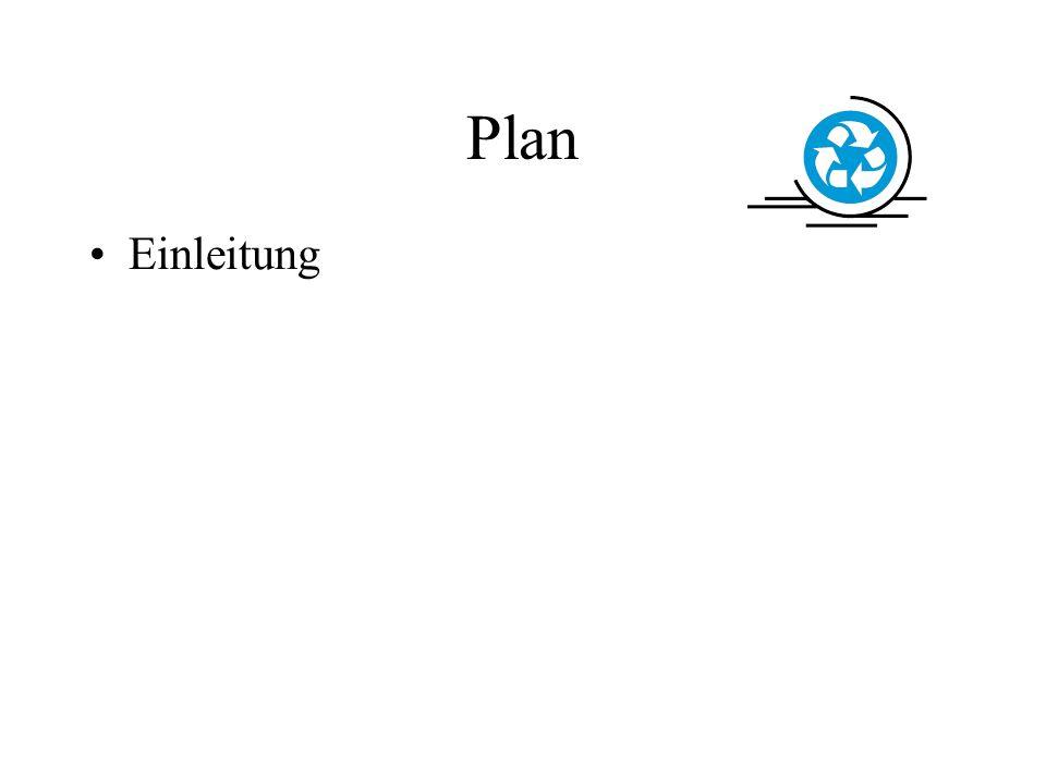 Plan Einleitung