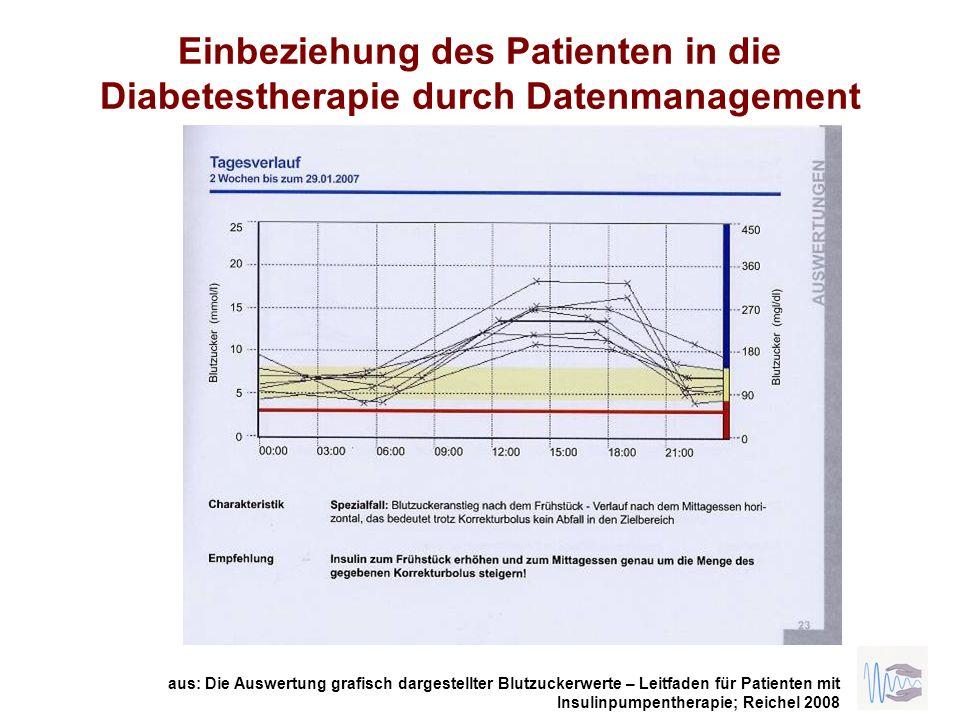 Einbeziehung des Patienten in die Diabetestherapie durch Datenmanagement
