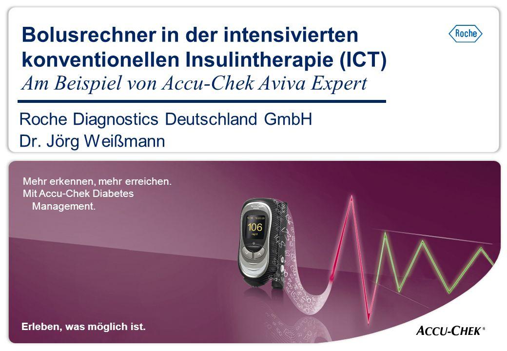 Roche Diagnostics Deutschland GmbH Dr. Jörg Weißmann