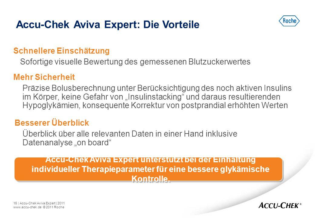 Accu-Chek Aviva Expert: Die Vorteile