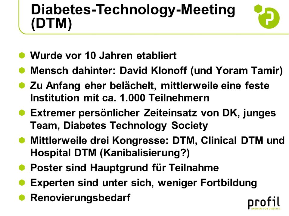 Diabetes-Technology-Meeting (DTM)