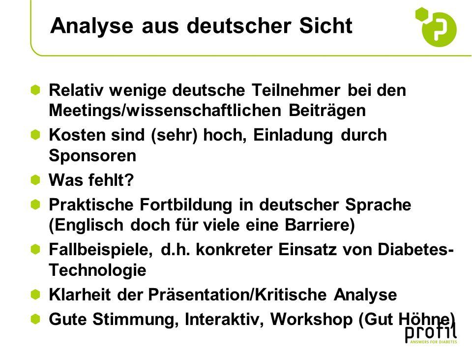 Analyse aus deutscher Sicht