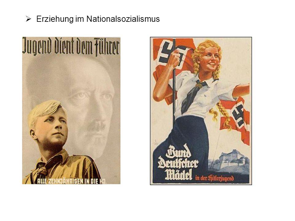 Erziehung im Nationalsozialismus