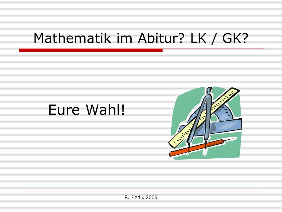 Mathematik im Abitur LK / GK