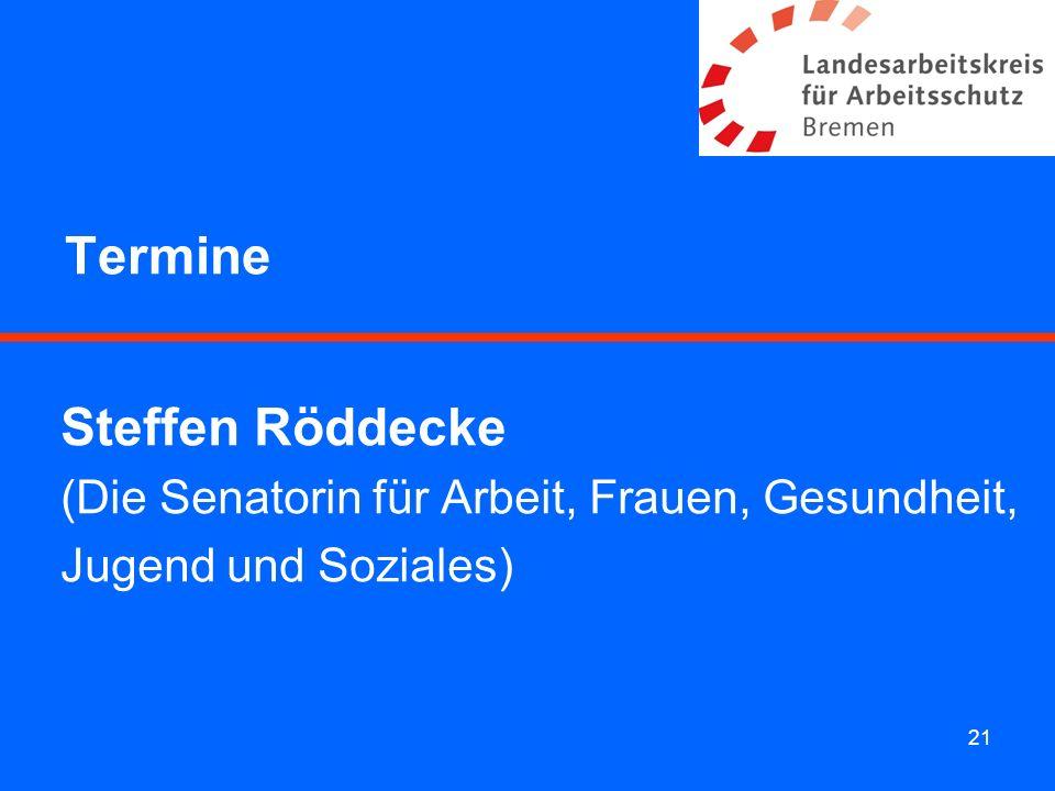 Termine Steffen Röddecke