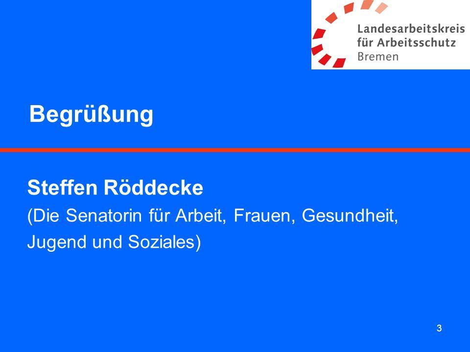 Begrüßung Steffen Röddecke