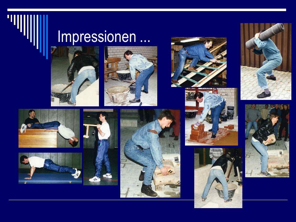 Impressionen ...