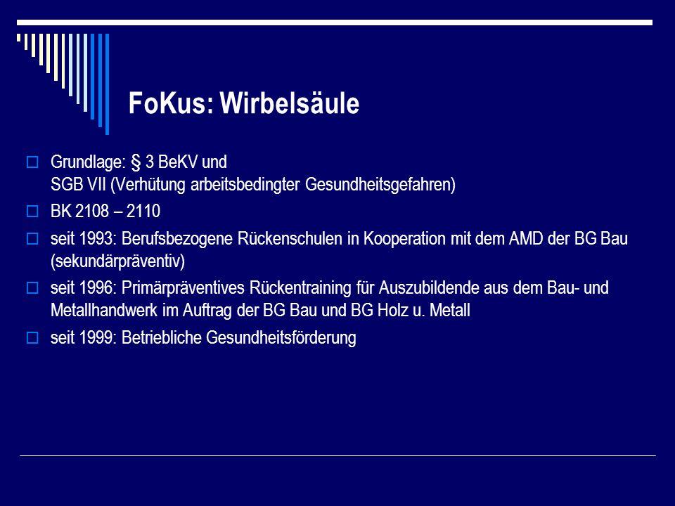 FoKus: Wirbelsäule
