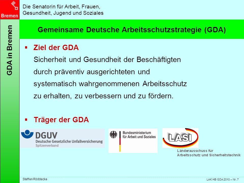 Gemeinsame Deutsche Arbeitsschutzstrategie (GDA)