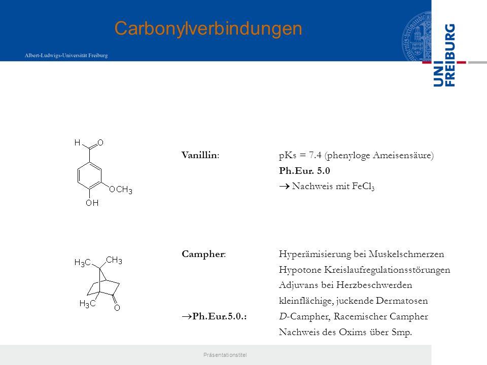 Carbonylverbindungen