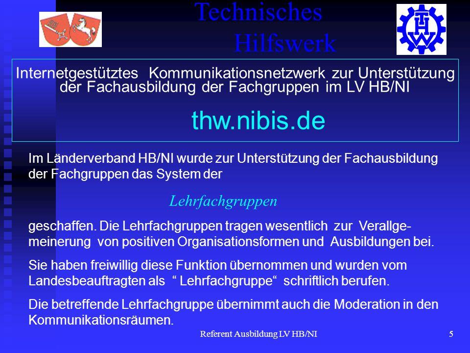 Referent Ausbildung LV HB/NI