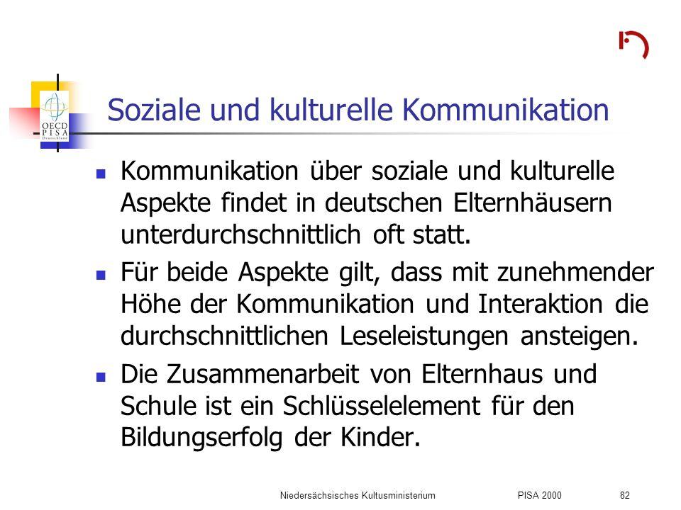 Soziale und kulturelle Kommunikation