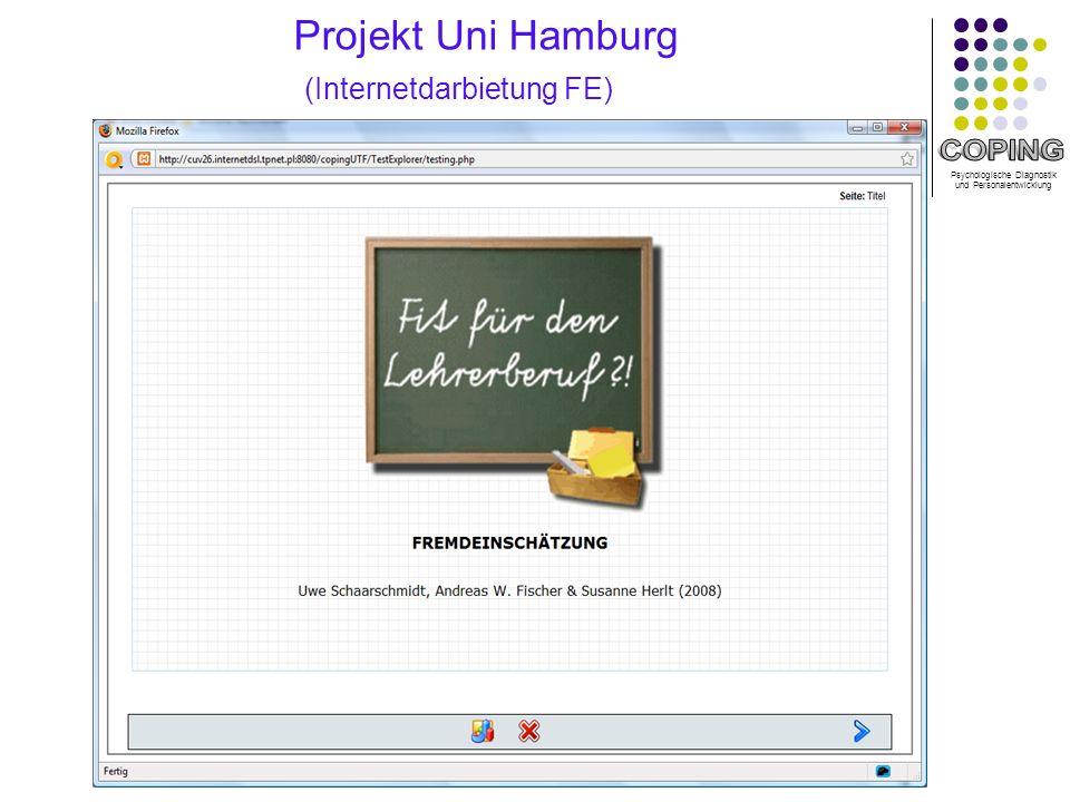 Projekt Uni Hamburg (Internetdarbietung FE)