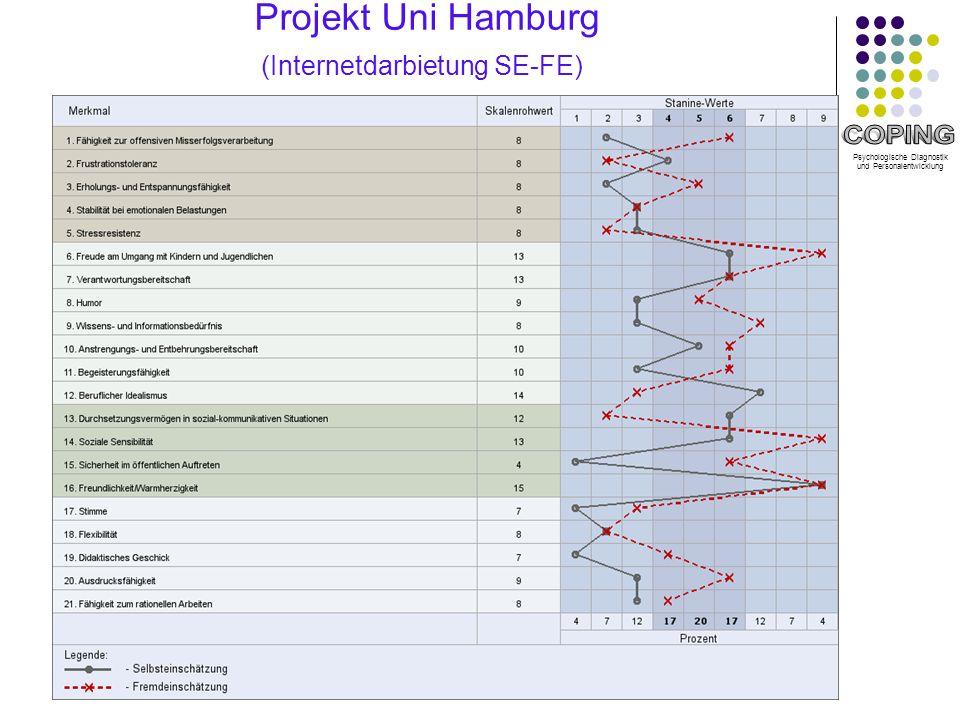 Projekt Uni Hamburg (Internetdarbietung SE-FE)