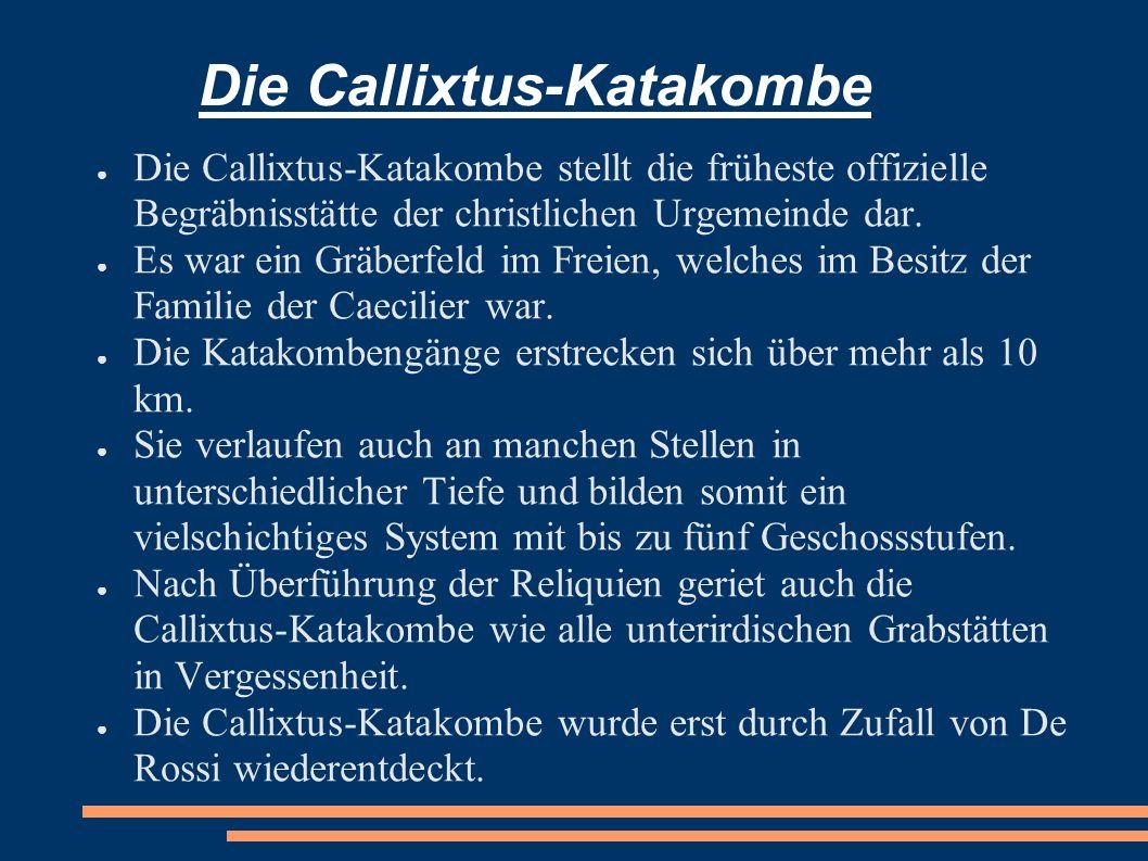 Die Callixtus-Katakombe