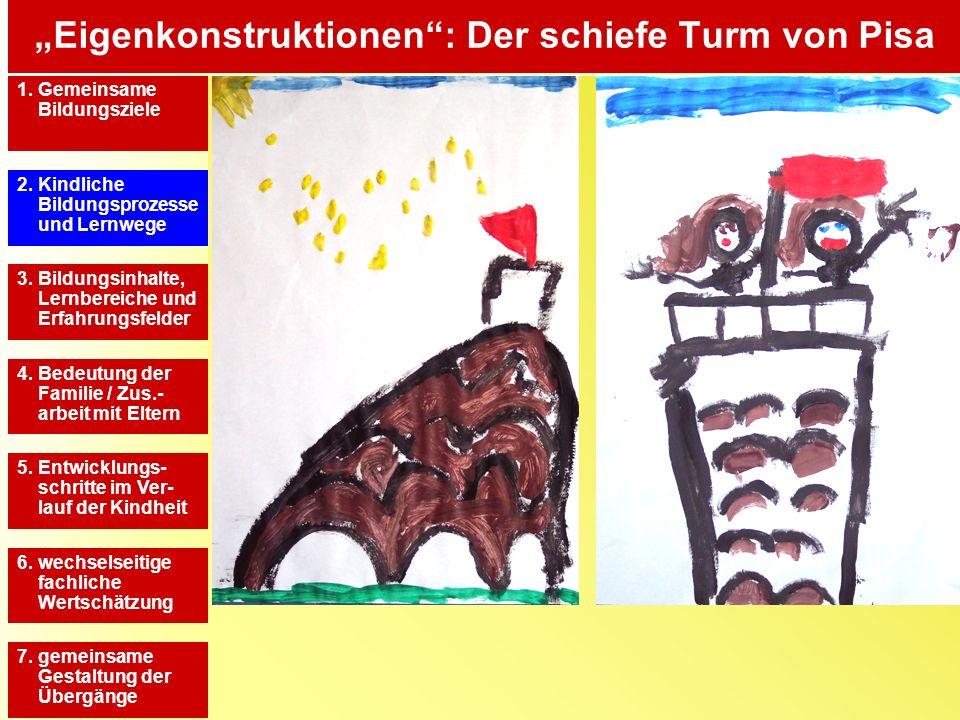"""""""Eigenkonstruktionen : Der schiefe Turm von Pisa"""