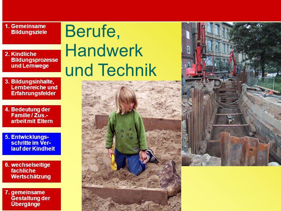 Berufe, Handwerk und Technik