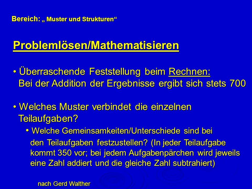 Problemlösen/Mathematisieren