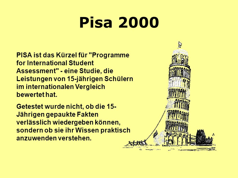 Pisa 2000