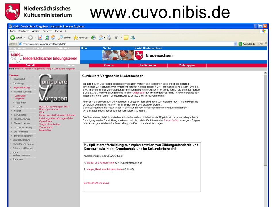 www.cuvo.nibis.de
