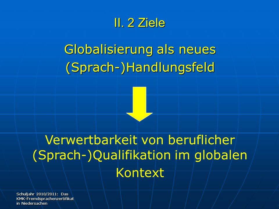 Globalisierung als neues (Sprach-)Handlungsfeld