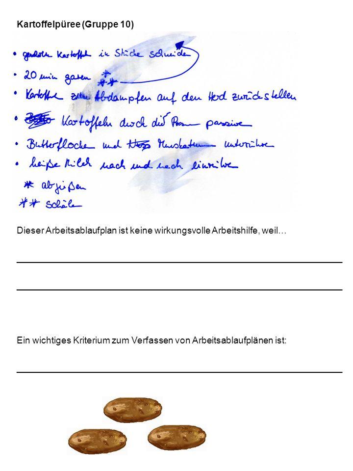Kartoffelpüree (Gruppe 10)