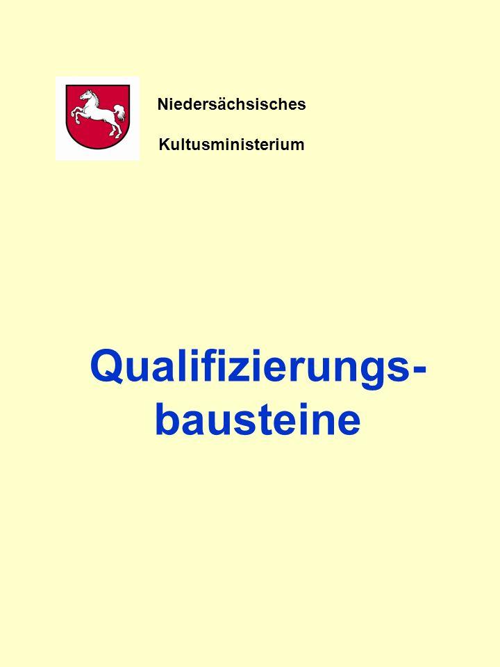 Qualifizierungs-bausteine