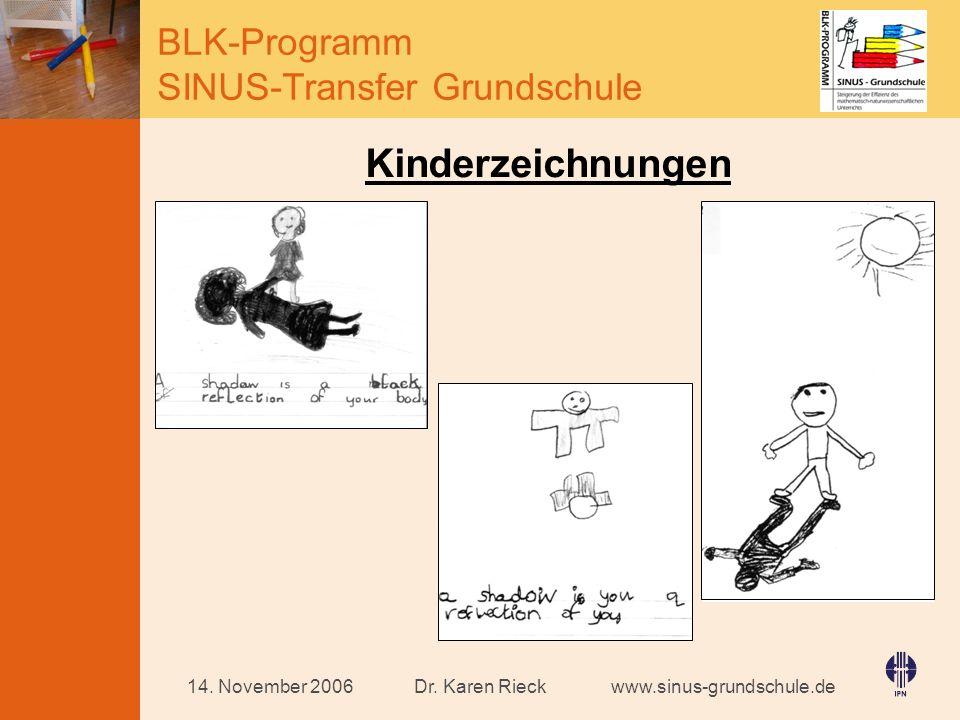 Kinderzeichnungen 14. November 2006 Dr. Karen Rieck